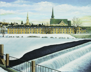 Painting of Speed River